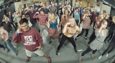 big bang theory flashmob