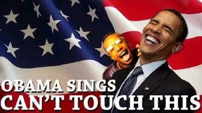 obama can't touch this