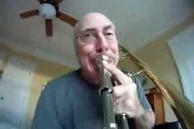 camera sur trombone
