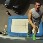 christophe hamel trampoline mur
