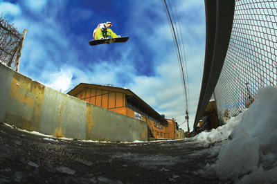 street snowboard