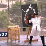 peinture insolite