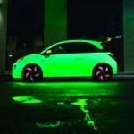 voiture change couleur
