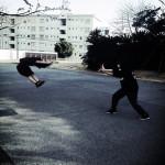 Dragonballing dans la rue