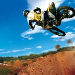 corde à sauter en moto