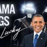 obama get lucky