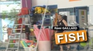 Remi Gaillard en poisson