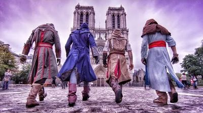 parkour assassin's creed paris