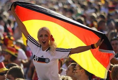 supportrice allemande