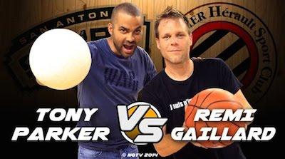 Tony Parker vs Remi Gaillard