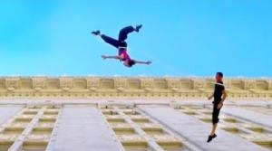 danse verticale en ville