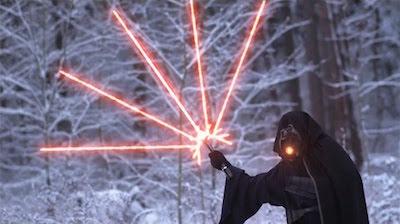 sabre laser star wars VII